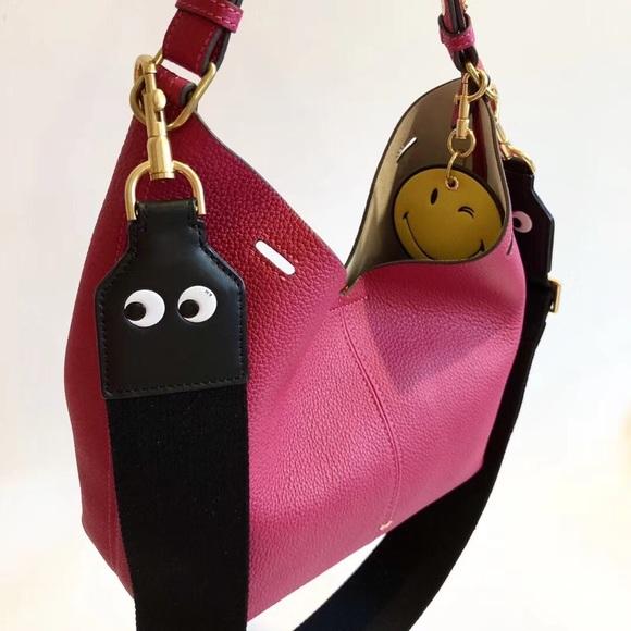 Anya Hindmarch Mini Build A Bag Leather Bucket Bag